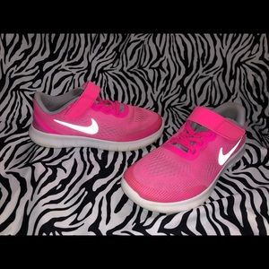 Nike Tennis Shoes Youth Girls Size 1Y 1
